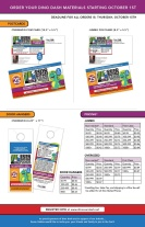 Marketing pieces for agents to promote event.